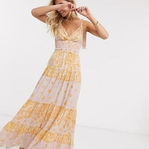 """Free People """"Let's Smock About It Maxi Dress"""""""